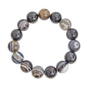 Bracelet-agate-zonee-noire-pierres-boules-12mm-01